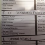 My vote in the 2009 election for the European Parliament